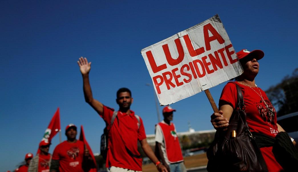 ONU pide a Brasil que deje a Lula ser candidato presidencial