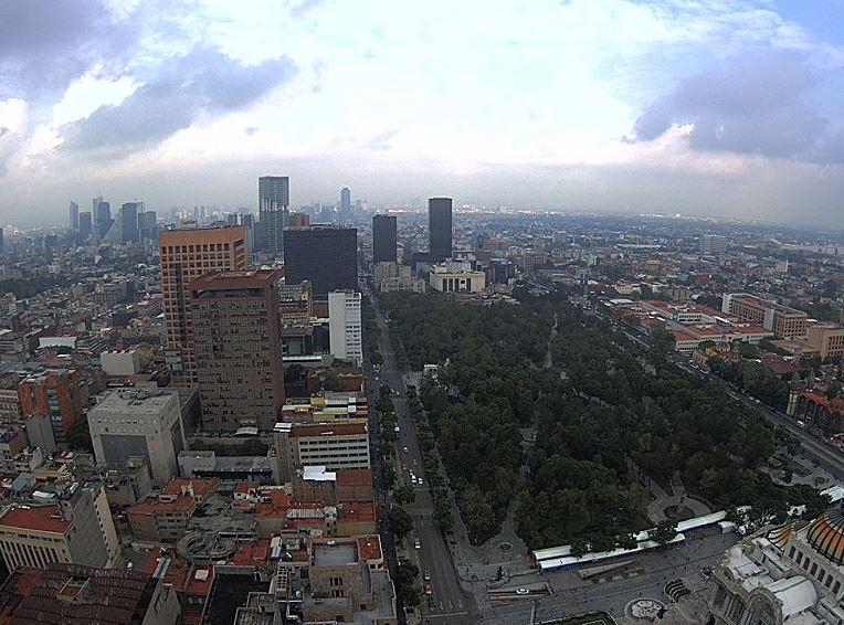 Prevén lluvias y granizadas para la Ciudad de México