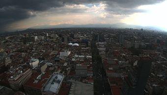 Prevén tormentas para la Ciudad de México