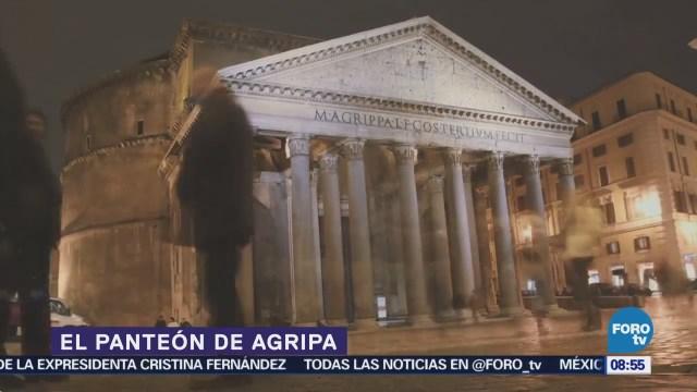 Panteón de Agripa en Roma, erigido por el emperador Adriano
