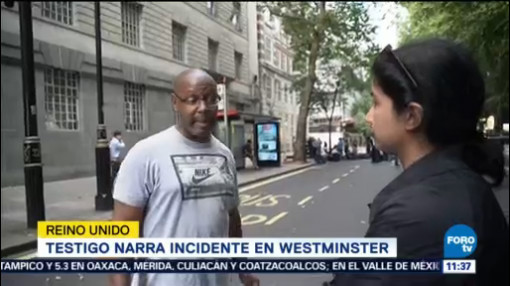 Testigo Narra Incidente Westminster
