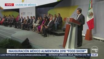 Peña Nieto encabeza inauguración de foro sobre alimentos