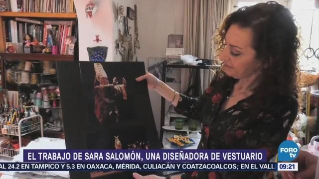 Plática con Sara Salomón, diseñadora de vestuario