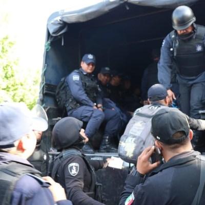 Policía de Puebla toma el control de la seguridad en el municipio de Tehuacán