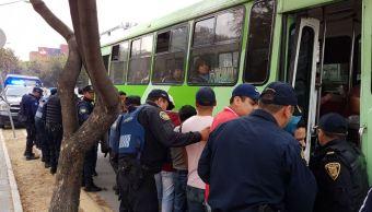Robo Transporte Público instan intensificar operativos CDMX