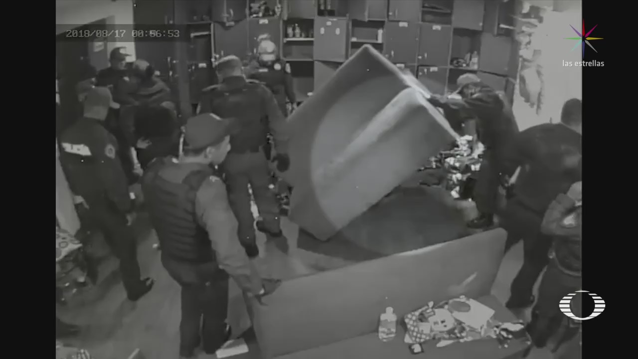 Policías acusados sembrar droga presentaron comportamiento