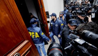 Cristina Fernández denuncia intoxicación tras allanamiento