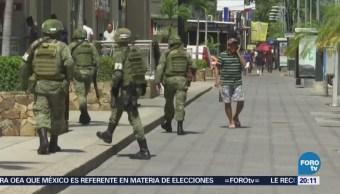Policías Vigilaran Regreso A Clases Acapulco Guerrero