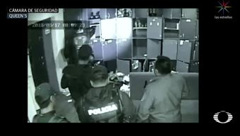 graban a policias sspcdmx sembrando droga bar roma