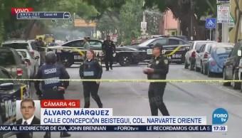 Por cadáver en la calle, cierran Concepción Béistegui