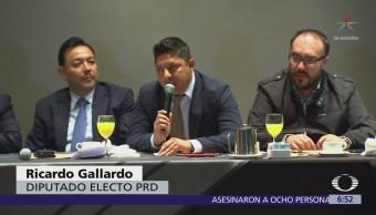 PRD elige a un Gallardo como coordinador de Diputados