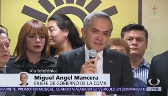 PRD será una bancada responsable, dice Miguel Ángel Mancera