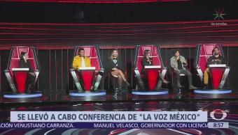 Presentan a los 4 coaches de La Voz México 2018