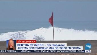Alerta Mar De Fondo Colima