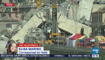 Puente de Genova colapsado provoca la muerte a 38 personas