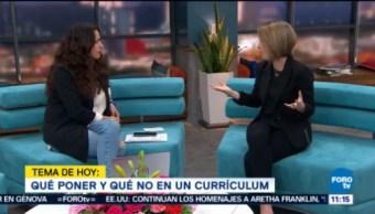 Qué Debes Poner En Tu Curriculum Vitae María Fernanda Garibay, Reclutadora De Personal, Buscando Trabajo, Empleo