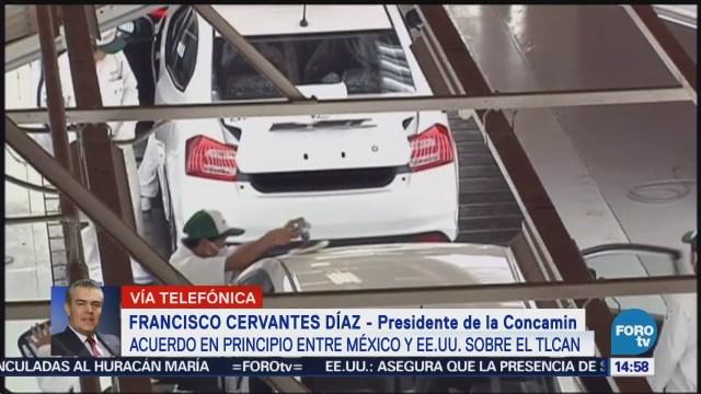 Concamin Califica Positivo Acuerdo Comercial México-Estados Unidos