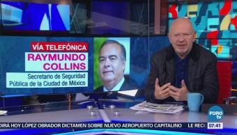 Raymundo Collins Continúa desmantelamiento de Unión Tepito
