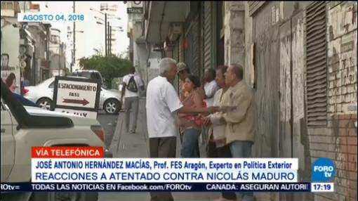 Reacciones Atentado Contra Nicolás Maduro