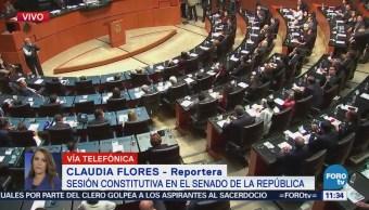 Realizan Sesión Constitutiva en el Senado de la República