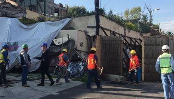 Colegio Rébsamen: inician labores de remoción de escombros