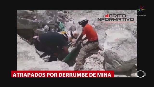 Recuperan Tres Cuerpos Derrumbe Mina Hidalgo