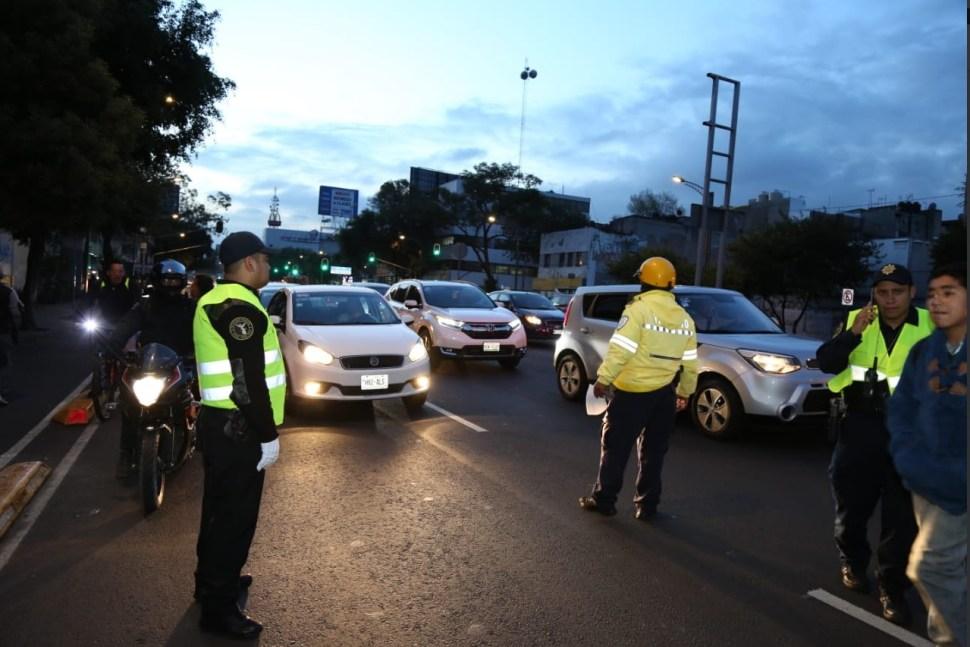 Regreso a clases resguardado por 28 mil policías en la CDMX