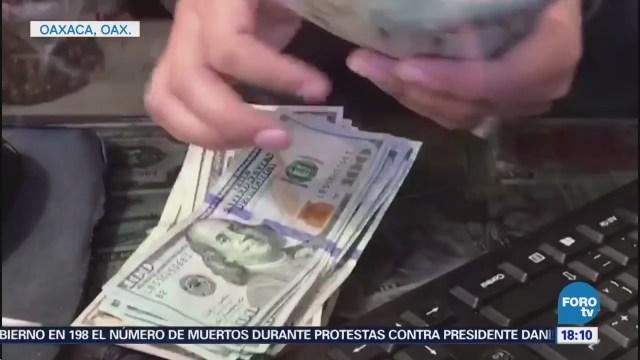 Remesas en Oaxaca aumentan 10 por ciento