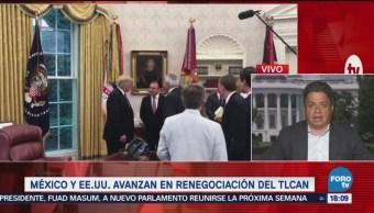 Renegociación Del Tlcan Podría Tardar Más Lunes, México Y Eu Lograron Un Acuerdo Comercial Congreso Norteamericano