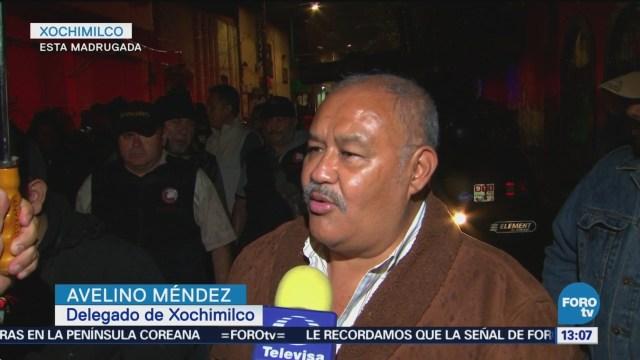 Retiran 40 Puestos Semifijos Xochimilco Ciudad De México Cdmx, Retiro De Puestos, Puestos Ambulantes, Comercio Informal