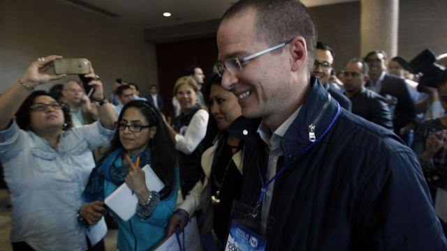 Reaparece Ricardo Anaya en el Consejo Nacional del PAN