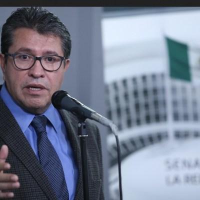 Monreal solicitará reducción de presupuesto para el Senado