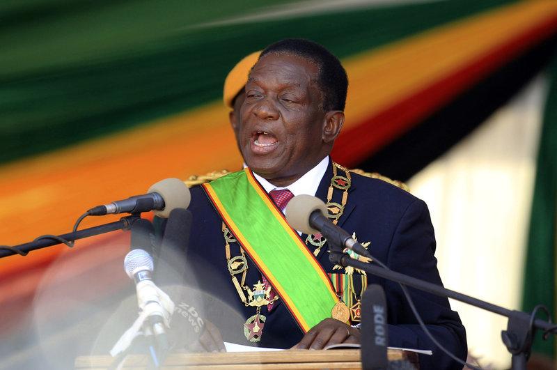 emmerson mnangagwa jura presidente zimbabue cocodrilo