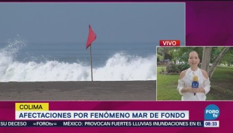 Afectaciones Fenómeno Mar De Fondo Colima Playas De Colima