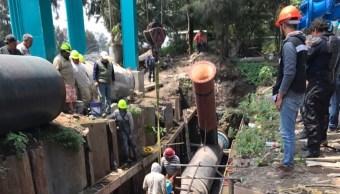 Concluyen trabajos en la Planta de Bombeo Cherokees, en Coyoacán