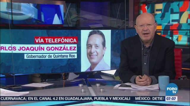 Sargazo no ha provocado cancelaciones de turistas, dice gobernador de Quintana Roo