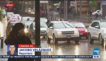 Complica Tránsito Lluvia Distintas Delegaciones Benito Juárez, Álvaro Obregón, Iztapalapa, Miguel Hidalgo Y Gustavo A. Madero Metro Inicia Avance De Seguridad