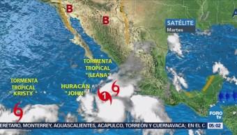 Se forma la tormenta tropical 'Kristy'