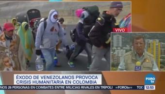 Se intensifica el éxodo de venezolanos