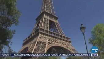 Segundo día de huelga en la Torre Eiffel