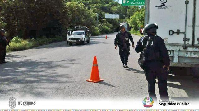 Emboscada en Acapulco deja cinco policías heridos