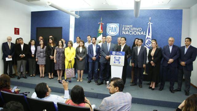 Senadores del PAN presentan su agenda legislativa