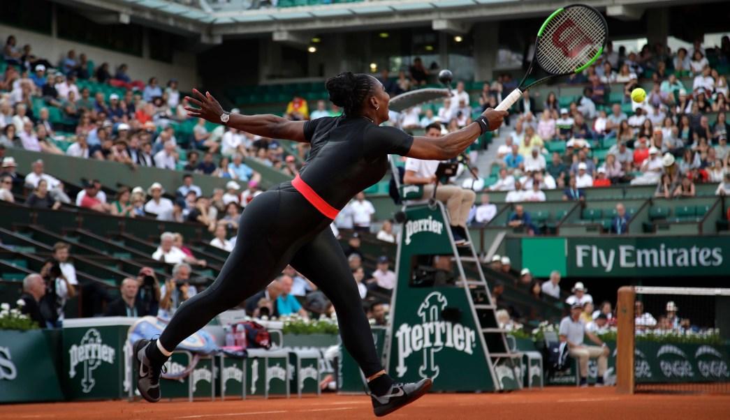 Serena Williams y traje postparto endurecen código de vestimenta Roland Garros
