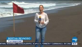 Alerta Por Mar De Fondo Colima Condiciones De La Marea Son Adversas Para Bañistas, Mal Tiempo, Alto Oleaje,