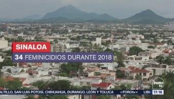Sinaloa, primer lugar del país en crímenes contra mujeres