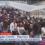 Sismo hoy 22 de agosto provoca desalojo de la PGJ CDMX