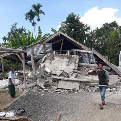 Activan alerta de tsunami por sismo de magnitud 7 en Indonesia