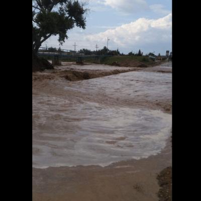 Lluvias dejan inundaciones y crecidas de ríos en Sonora