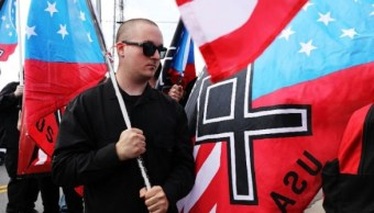 Supremacistas de Charlottesville protestan en la Casa Blanca