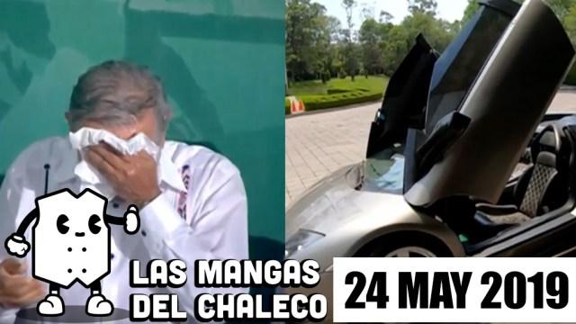 FOTO: Las Mangas del Chaleco: Subasta de autos de lujo, baja en gabinete de AMLO y escándalo por evento en Bellas Artes, 26 MAYO 2019